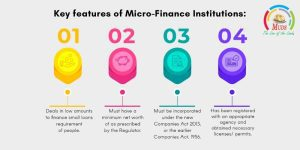 key features of Micro-Finance Institutions