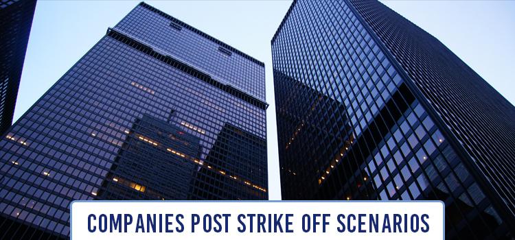 companies post strike off scenarios