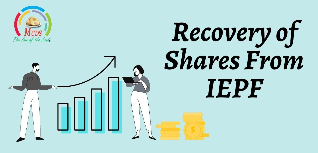 Recovery of Shares From IEPF