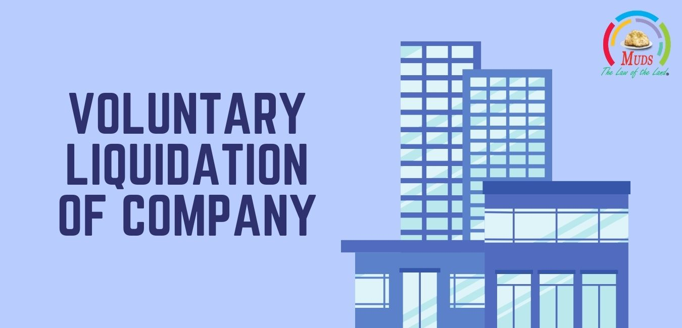 Voluntary Liquidation of Company