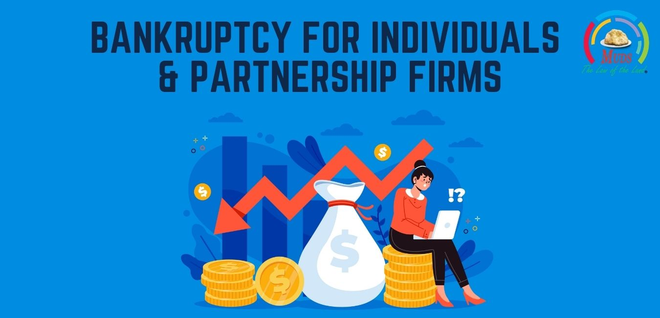 Bankruptcy for Individuals & Partnership Firms   Application for Bankruptcy
