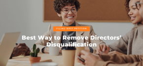 Remover Of Director Disqualification