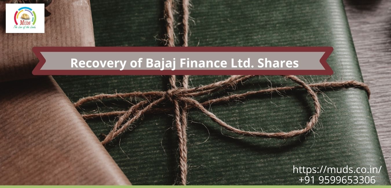 Recovery of Bajaj Finance Ltd. Shares from IEPF