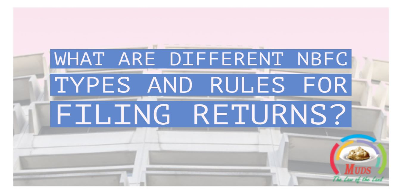 Different NBFC Types and Rules for Filing Returns
