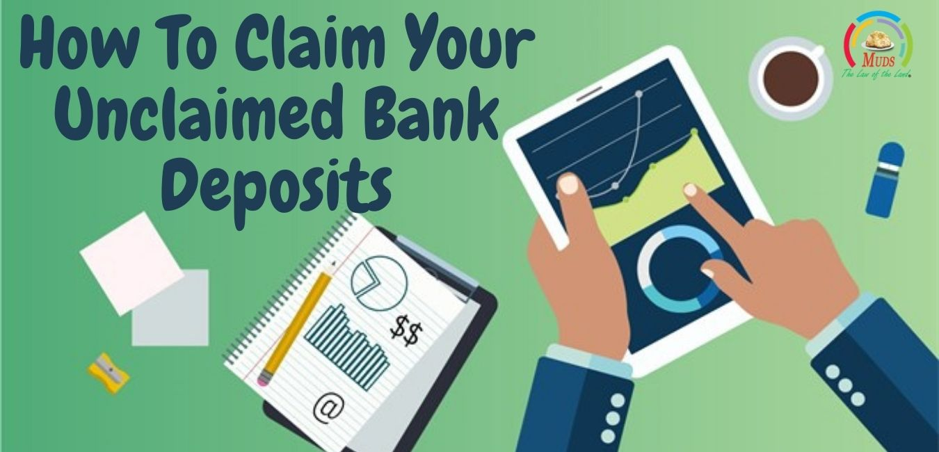 Claim your unclaimed bank deposits