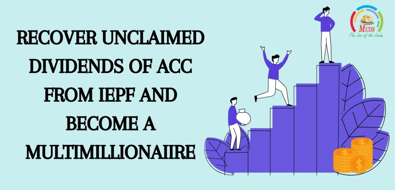 Recover Unclaimed Dividends of ACC from IEPF