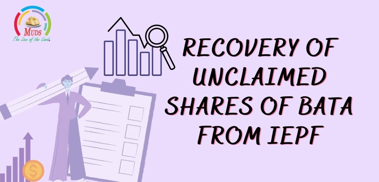 Recovery of Unclaimed Shares of BATA from IEPF