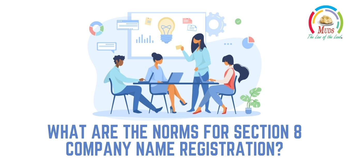 What Are the Norms for Section 8 Company Name Registration