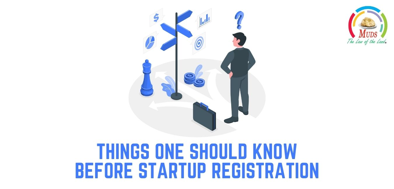 Things Know before Startups Registration