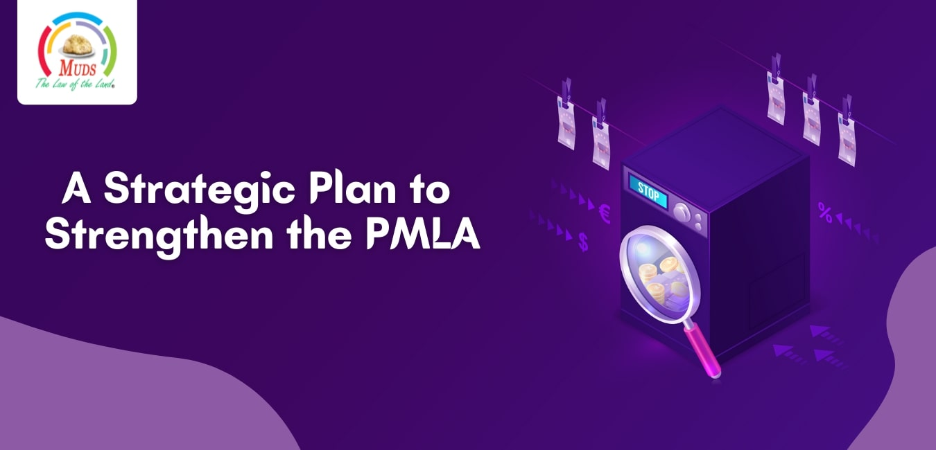 A Strategic Plan To Strengthen The PMLA