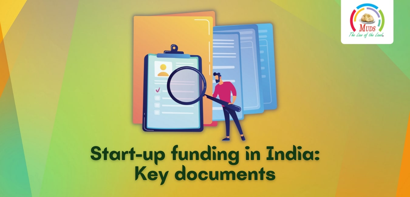 Start-up funding in India - Key documents