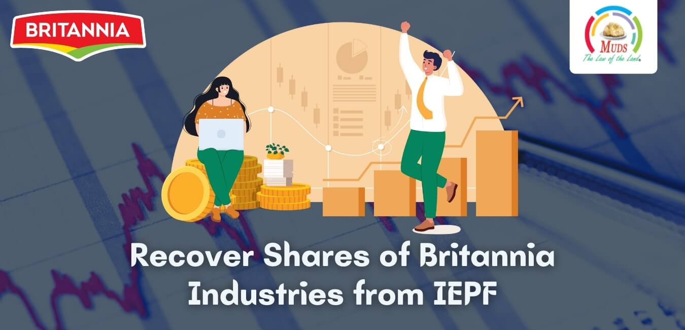 Recover Shares of Britannia Industries from IEPF